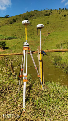 Kit Completo GPS X91 | Receptor GNSS | Coletora HCE 300 | Tripé/Base + Acessórios - Foto 3