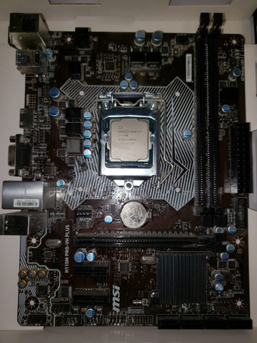 Placa mãe h110m pro-vh plus (socket 1151) - Foto 2
