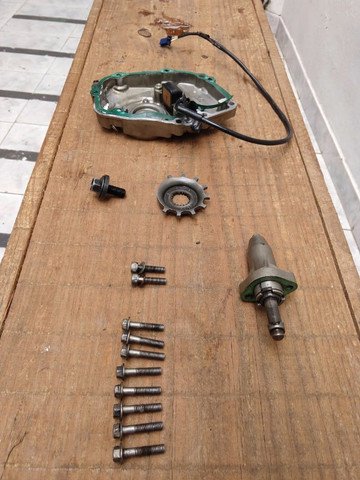 Peças de motor e cambio Hornet carburada 2007 - Leia o descritivo - Foto 5