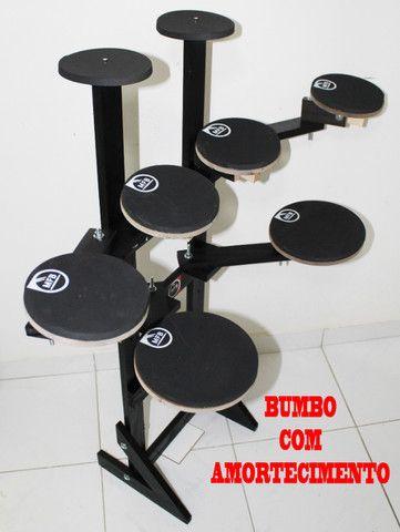Bateria de estudo, Bateria praticável, simulador MFB! NOVA, fabricada em Salvador!
