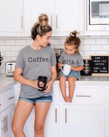 T-shirt mãe e filho(a)  - Foto 3