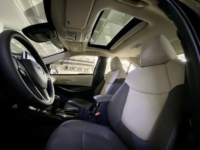 Toyota Corolla Altis Hybrid Blindado Teto Solar Okm Pronta Entrega - Foto 9