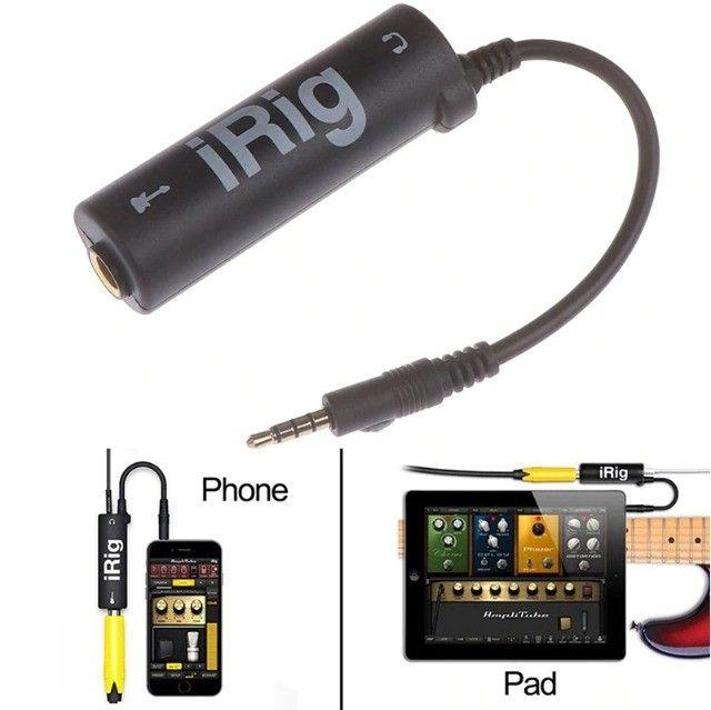 Irig Adaptador Para Celular P/ Live, Guitarra, Baixo e Mesa de Som - Foto 5