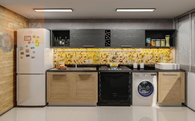 Apartamento com 2 dormitórios à venda, 49 m² no Eusébio. - Foto 2