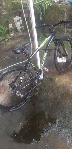 Bike semi nova em perfeito estado! - Foto 4