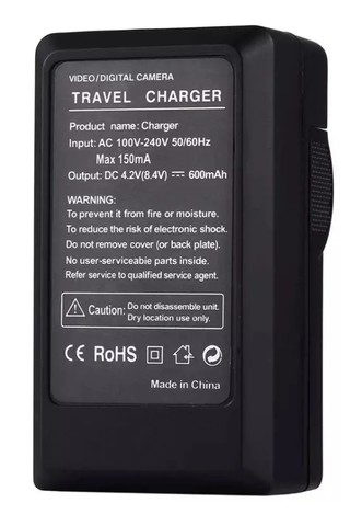 Carregador Bateria Sony P/ Iluminadores A Led Cn 160 Yn-300 - Foto 2