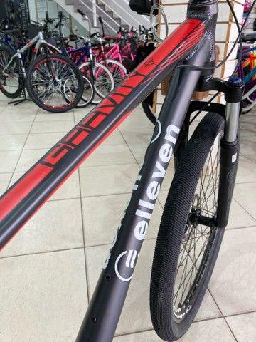 Bicicleta Elleven Gravity 27v - Foto 4