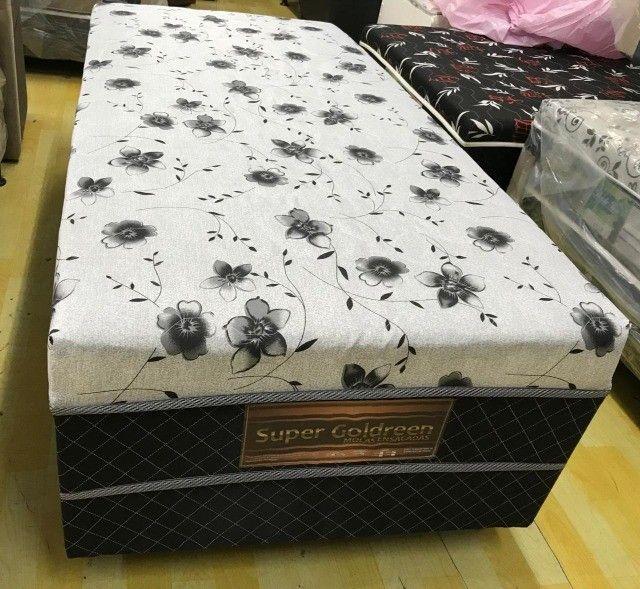 Cama Box Solteiro  Conjugado C/ Molas Pocket Ensacadas - Foto 5