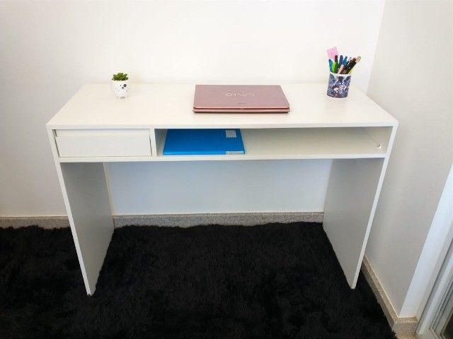 Mesa de manicure/ escrivaninha/ multiuso MDF novo - Foto 4
