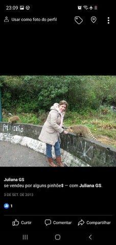 Parka com capuz e pelinhos - Foto 2