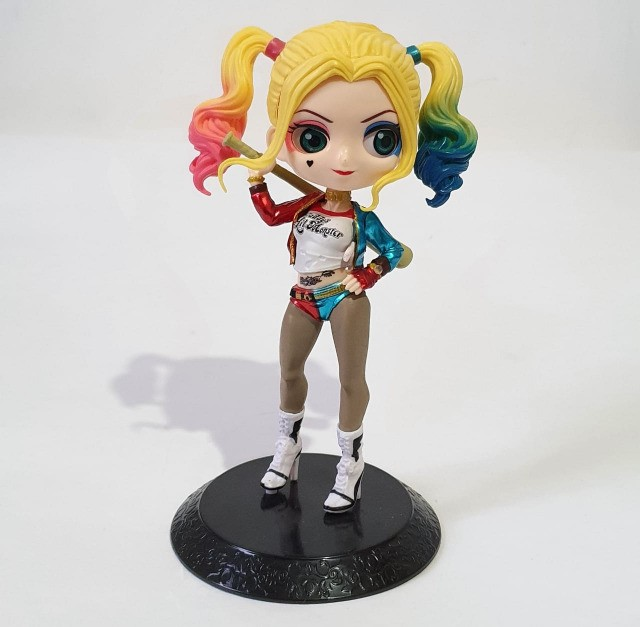 Boneca Alerquina, Super Girl, Mulher Gato, Mulher Maravilha e Coringa - Foto 2