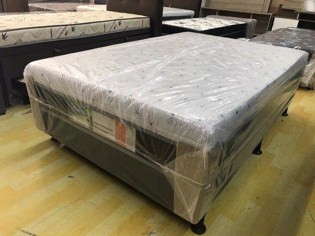 Conjunto Box Semi Casal, Viúvo** .Super Conforto, Direto Da Fabrica - Foto 4
