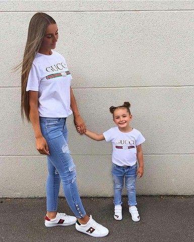 T-shirt mãe e filho(a)  - Foto 4