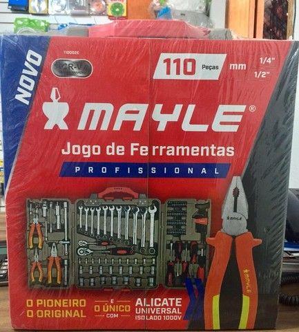 Jogo Ferramentas 110Pçs- Mayle - Foto 3