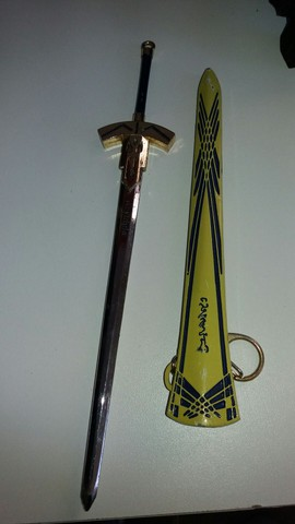 pingente espada cheveiro..22 cm - Foto 3