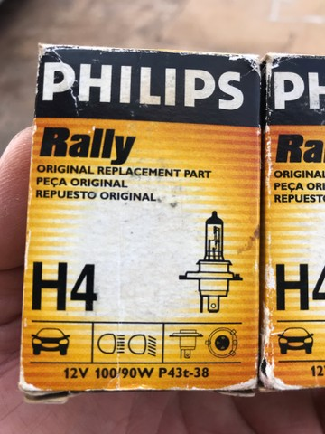 Lâmpada de 100 watts Philips rally - Foto 3