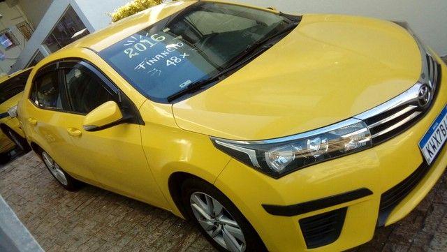 Corolla gli 1.8 2016  ex táxi muito novo valor do anúncio com pequena entrada - Foto 10
