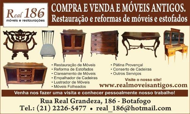 Restauração Compra e Venda de Móveis Antigos - Foto 4
