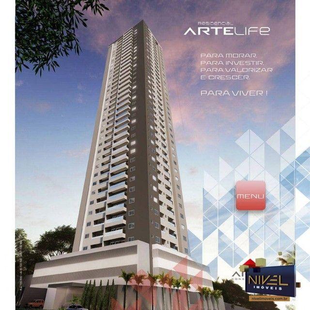 Apartamento com 3 dormitórios à venda, 90 m² por R$ 506.530 - Setor Leste Universitário -