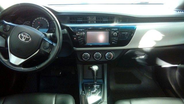 Corolla gli 1.8 2016  ex táxi muito novo valor do anúncio com pequena entrada - Foto 5