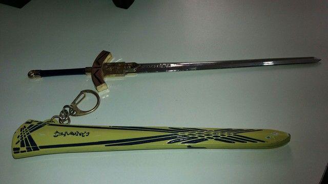 pingente espada cheveiro..22 cm - Foto 2