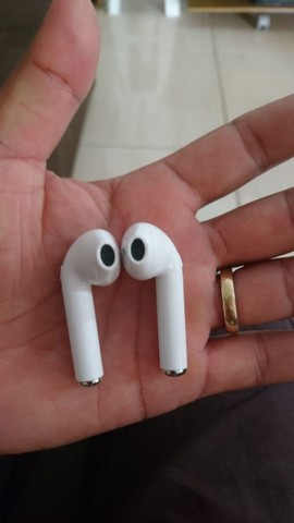 Fone de ouvido Bluetooth i7s tws funciona em todos aparelhos celulares