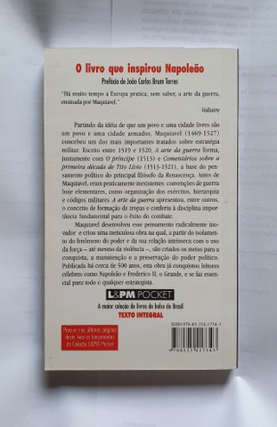 Livro Maquiavel - A Arte da Guerra (perfeito estado) - Foto 2