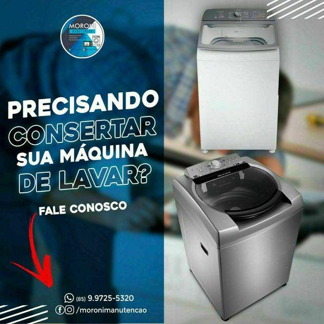 Moroni manutenção em máquina de lavar