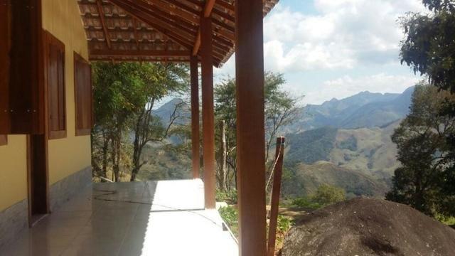 Sana / chácara em condomínio rural com piscina natural - Foto 2