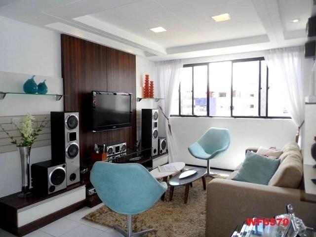 Cygnus, apartamento 3 quartos, 2 vagas, próximo Whashington Soares, Luciano Cavalcante - Foto 6