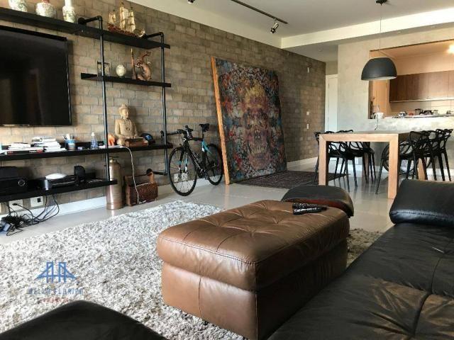 Amplo apartamento mobiliado no joão paulo com linda vista para o mar, 3 suítes, sacada e 3 - Foto 8