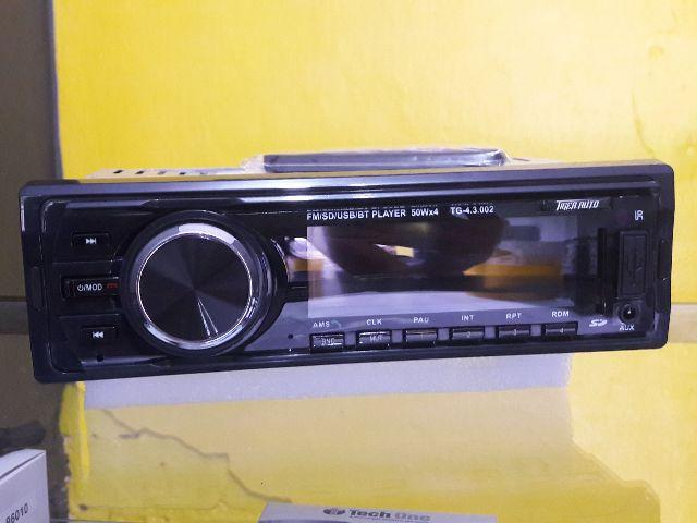 Radio MP3 e Bluetooth