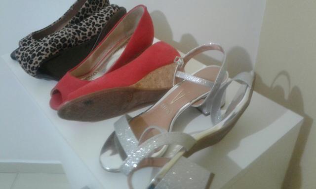 Sandálias 03 pares n 35 - Foto 3