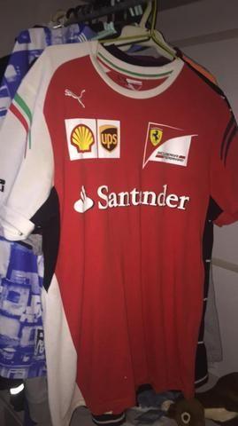 Camisa Ferrari Ups Santander - Roupas e calçados - Piraporinha ... 579c6e0ac0b