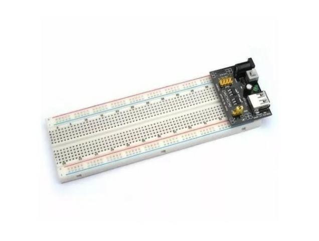 COD-AM20 Fonte De Alimentação 3.3v 5v Mb102 Protoboard Arduino - Pic - Automação - Roboti - Foto 4