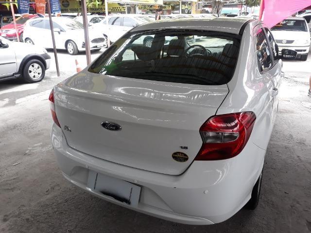 Vendo Ford Ka Se 1.5 Completo + GNV 5.G°e IPVA 2019 Grátis - Foto 7