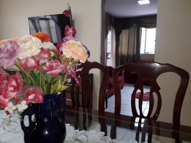 QNC 01 Ótima casa 3 quartos mais sobrado só 580 mil aceita financiamento - Foto 4