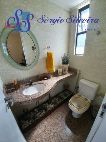 Apartamento na Aldeota com 4 suítes todas com closet, amplo e ventilado, nascente 4 vagas - Foto 11