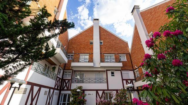 Apartamento à venda com 3 dormitórios em Capivari, Campos do jordão cod:55823