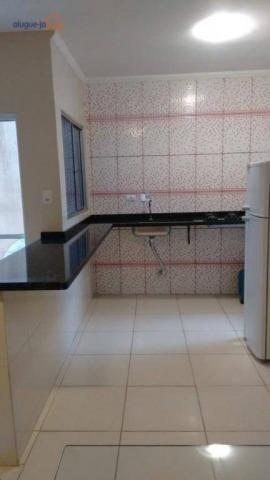 Excelente casa térrea com 2 dormitórios à venda, 80 m² por r$ 230.000 - residencial parque - Foto 5