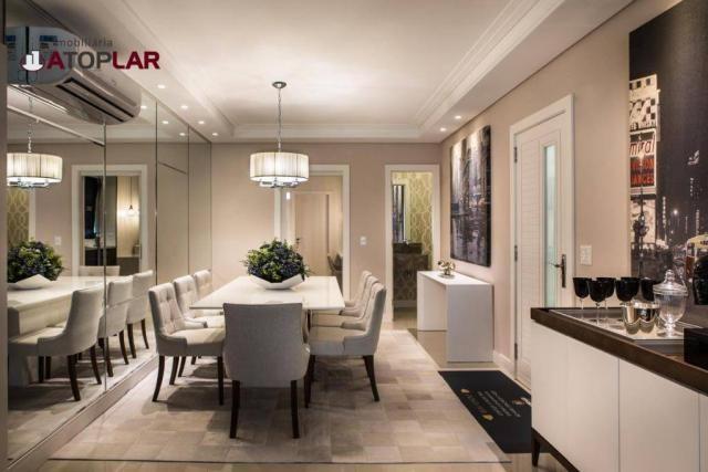 Apartamento com 3 suítes à venda, 180 m² por r$ 2.340.000 - centro - balneário camboriú/sc