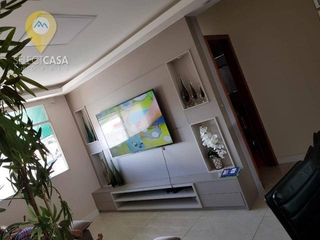 Excelente apartamento em bairro de fátima/jardim camburi 3 quartos - Foto 5