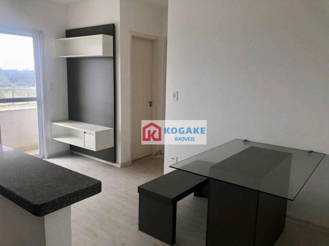 Apartamento com 2 dormitórios à venda, 53 m² por r$ 250.000,00 - vila tatetuba - são josé  - Foto 2