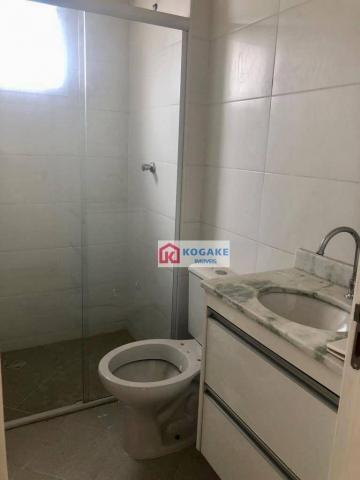Apartamento com 2 dormitórios à venda, 53 m² por r$ 250.000,00 - vila tatetuba - são josé  - Foto 8