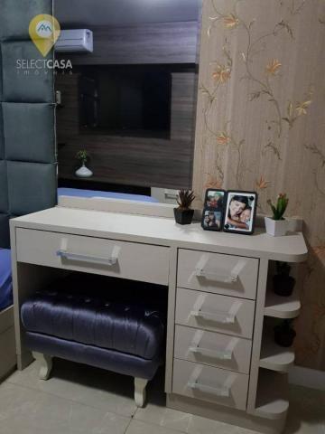 Excelente apartamento em bairro de fátima/jardim camburi 3 quartos - Foto 12