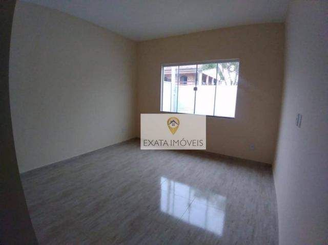 Lançamento! Casas lineares com bom quintal, Extensão Serramar/Rio das Ostras. - Foto 6
