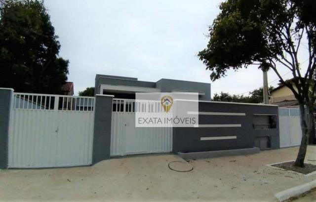 Lançamento! Casas lineares com bom quintal, Extensão Serramar/Rio das Ostras. - Foto 17