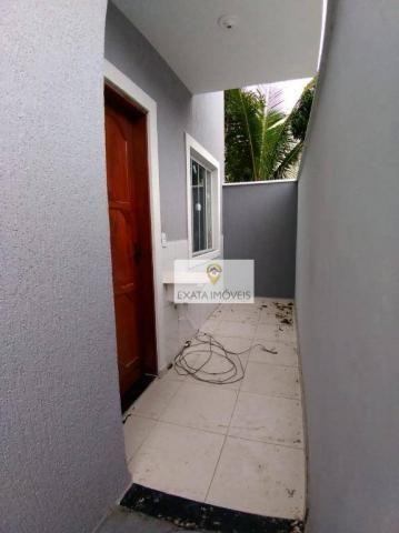 Lançamento! Casas lineares com bom quintal, Extensão Serramar/Rio das Ostras. - Foto 8