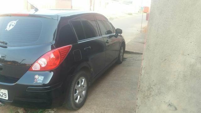 Vendo esse carro TIIDA Ano 2008/2009 NISSAN - Foto 4