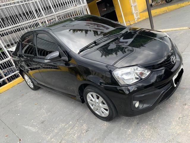 Novo Etios sedan automatico versao top de linha 2018 5 mil de entrada